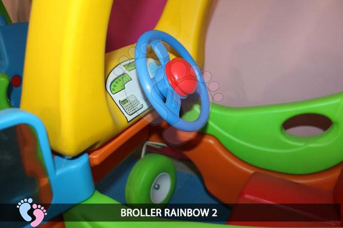 Xe chòi chân Broller Rainbow 2 7