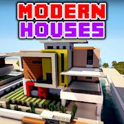 Maisons modernes Minecraft PE Mod