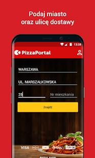 PizzaPortal.pl - Zamów Jedzenie Online Ekran Görüntüsü