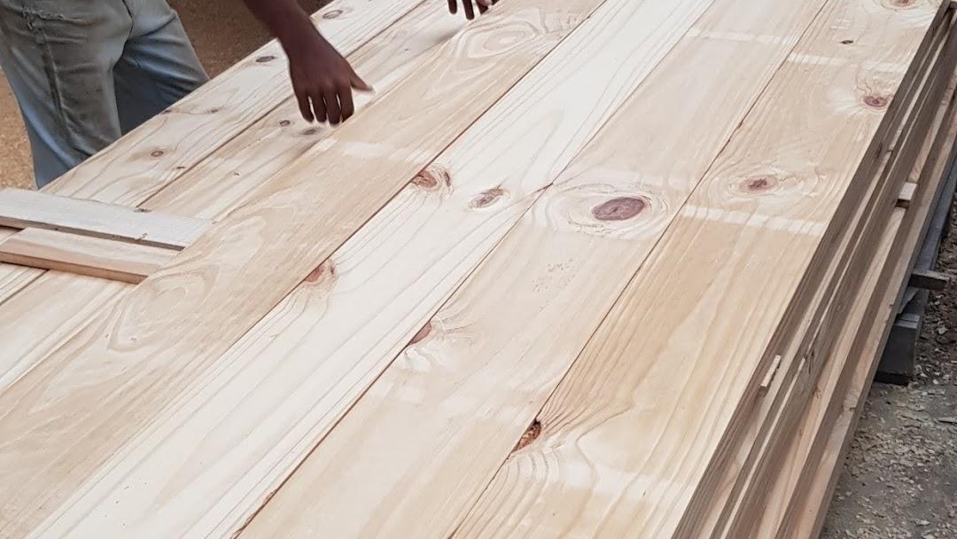Papan Pine Wood Custom Made