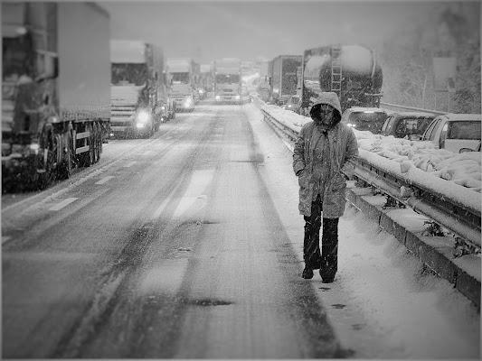 Neve On The Road di colacicco.francesco