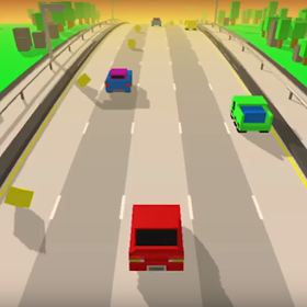 Smashy Highway - Traffic Racing Game