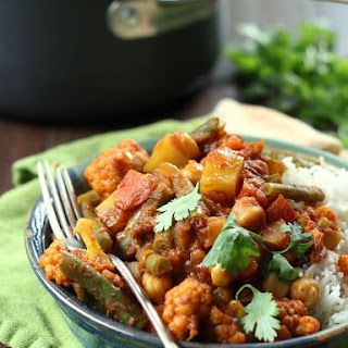 Easy Mixed Vegetable Curry.