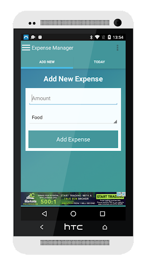 Expense Manager 1.1 screenshots 1