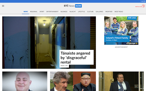 RTÉ News Now screenshot 7