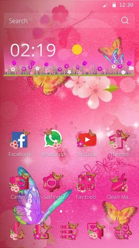 ピンクの蝶の夢