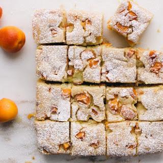 Apricot Custard Cake.