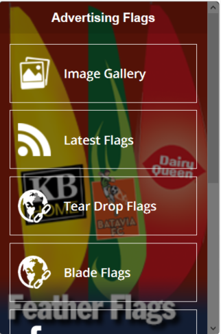 Advertising Flags Banners