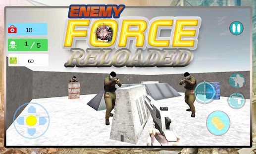 Enemy Force Reloaded - náhled