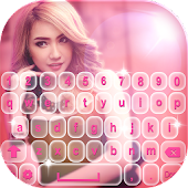 Cute Photo Keyboard Themes