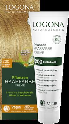 Herbal Hair Colour Cream 200 Copper Blonde 150 ml