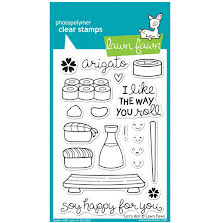 Lawn Fawn Clear Stamps 4X6 - Lets Roll