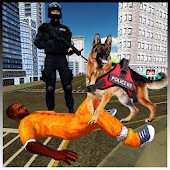 US Police Dog Simulator:Crime City Dog Chase Android APK Download Free By The Crown Games