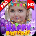 Birthday Photo Frame 2019 Birthday Photo Editor icon