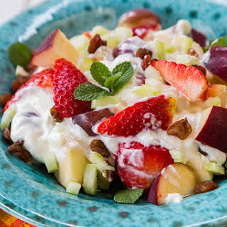 Skinny Fruit & Yogurt Salad.