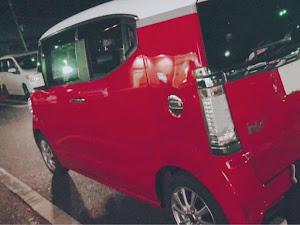 Nボックススラッシュ JF1 Xターボパッケージ2トーンカラースタイルのカスタム事例画像 つしつしさんの2018年12月08日17:21の投稿