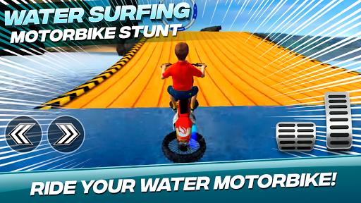 Water Surfing Motorbike Stunt 2.0 screenshots 1