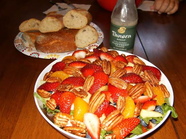 Strawberry Poppy Seed Salad, My Take On Panera's Salad By The Same Name.