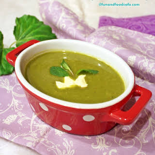 Spinach & Lentil Soup.