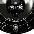 Black Skull Watch Face icon