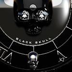 Black Skull Watch Face Icon