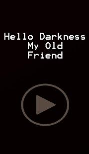 Hello Darkness My Old Friend Apprecs