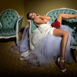 Ana by Diana Toma - Nudes & Boudoir Boudoir ( boudoir, bride, beauty, sexy, glamour )