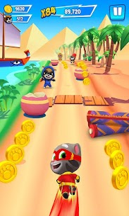 Talking Tom Hero Dash Mod Apk [Unlimited Money + Diamonds] 2.1.1.1235 6