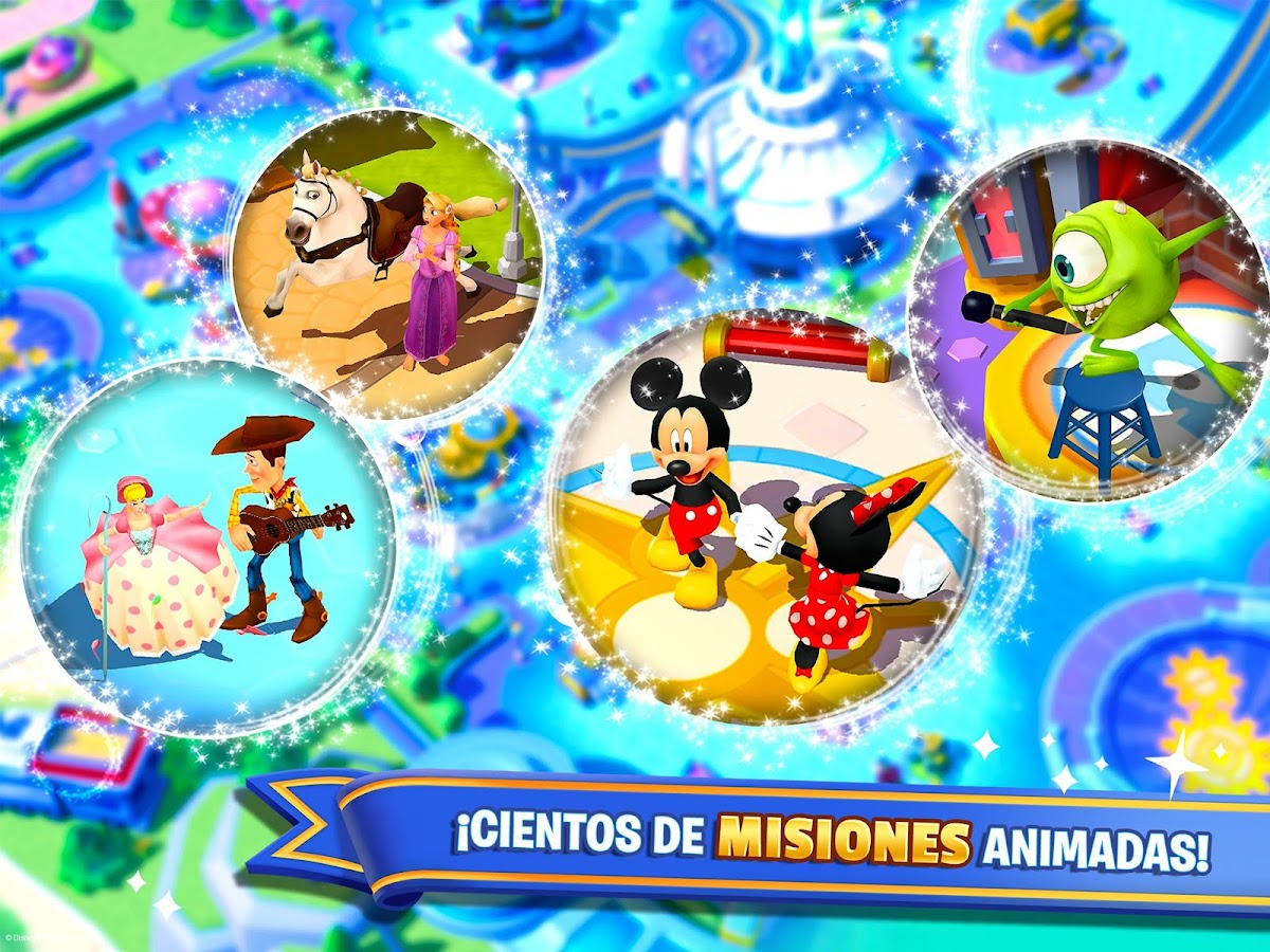 Disney Magic Kingdoms: captura de pantalla