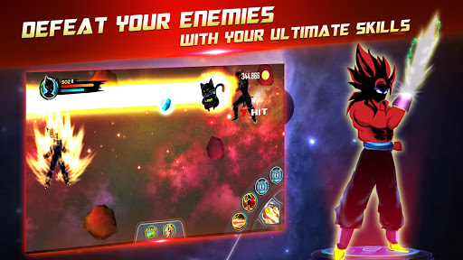 Dragon Battle Legend: Super Hero Shadow Warriors 3.0 screenshots 4