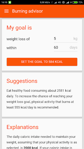 玩免費醫療APP|下載Burn'em Down! Calories + Fat app不用錢|硬是要APP