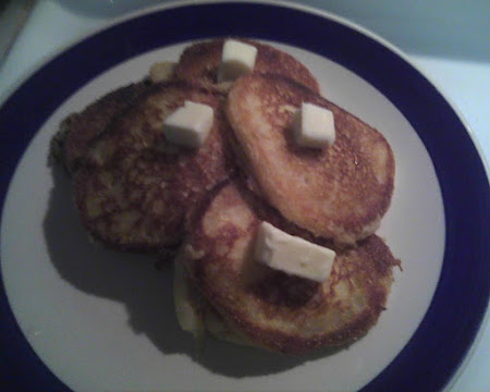 Corn Meal Griddle Cakes Recipe