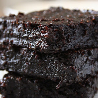 Fudgy Cocoa Avocado Brownies (Butter, Egg & Flour-Free).