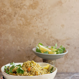 Hara Pulao/Green Rice or Cilantro Mint Rice