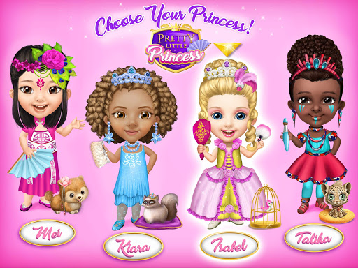 Pretty Little Princess - Dress Up, Hair & Makeup apkpoly screenshots 17