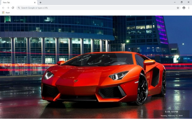 Sport Cars New Tab & Wallpapers Collection