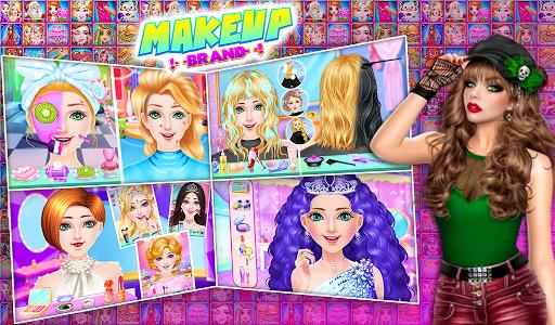Fashion doll Makeup games : new girls games 2020 apkmr screenshots 1