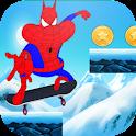 spider oggy skater icon