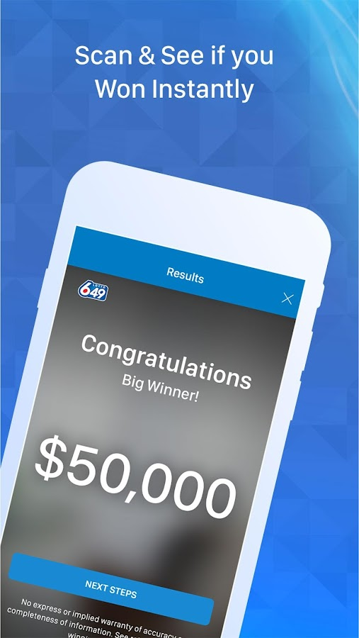 OLG Lottery- screenshot