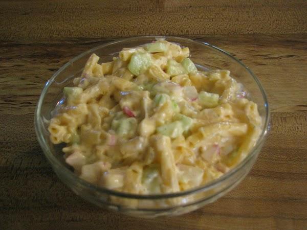 Leftover Mac & Cheese Salad Recipe