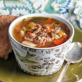 Pressure Cooker Turkey Scotch Broth