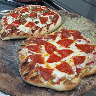 Making Pizza on the Grill Recipe