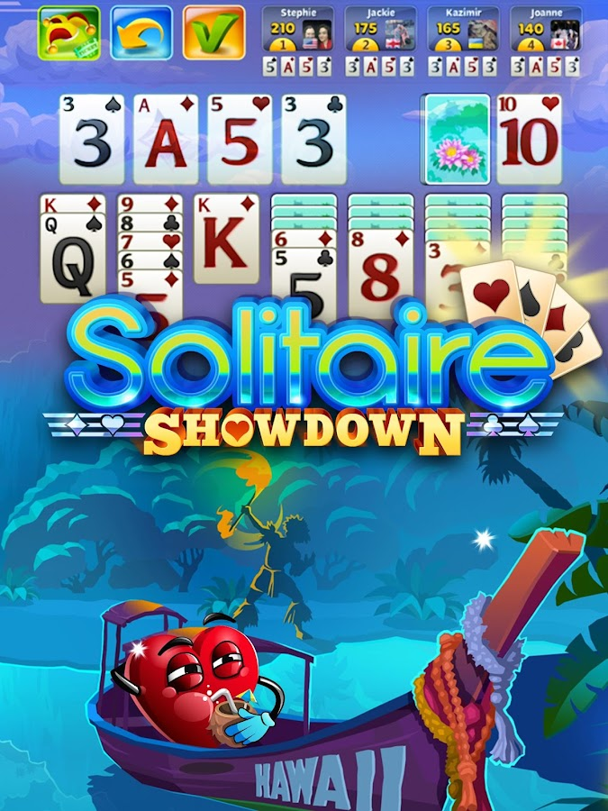 Solitaire Showdown- screenshot