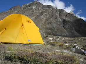 Photo: back to base camp