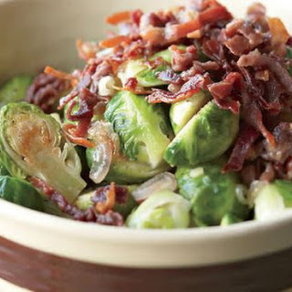 Brussels Sprouts with Crisp Prosciutto Recipe