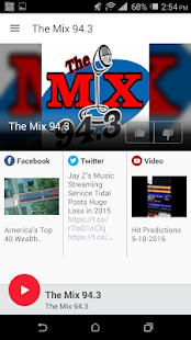 The Mix 94.3- screenshot thumbnail