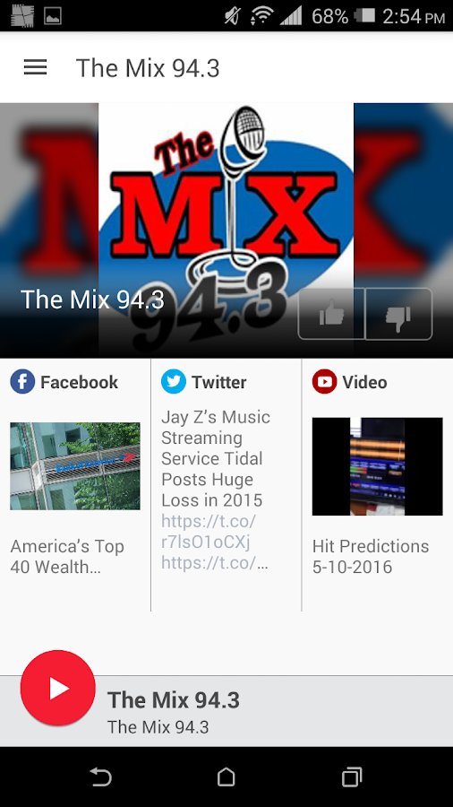 The Mix 94.3- screenshot