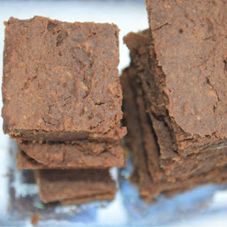 Easy Vegan Chocolate Brownies (Chickpeas, Jaggery).