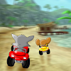 Beach Jerry Racing and Cat