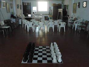 Photo: Instalaciones del Club Escacs Son Dameto y la AEB